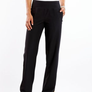 Lucy Black Every Day Pants with Zip Pockets